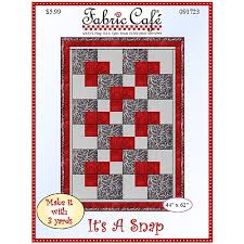 It s a Snap 3 Yard Quilt Pattern