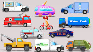 Street Vehicles | Toy Car | Video For Kids | Learn Transport - YouTube Ambulance Video For Children Kids Truck Fire And Rescue Tow Youtube Alphabet Garbage Learning Vacuum Trucks Color Cars In Spiderman Cartoon Videos Colors Pictures Of For Group 67 Monster Road Roller Excavator