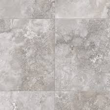 Home Depot Wall Tile Sheets by Trafficmaster Travertine Grey 12 Ft Wide X Your Choice Length