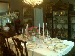 Beautiful Centerpieces For Dining Room Table by Elegant Tablescape In A Beautiful Dining Room