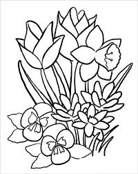 Abstract Spring Coloring Pages