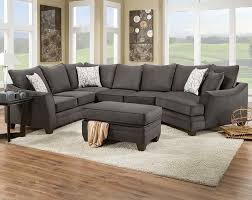 flannel seal 2 piece sectional sofa traditional living room