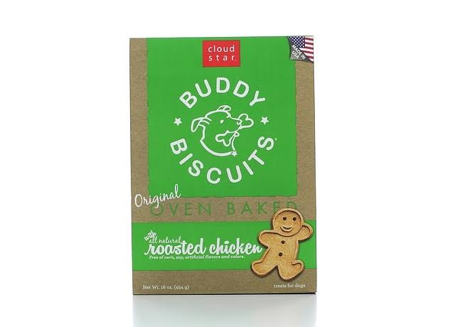 Buddy Biscuits Roasted Chicken Crunchy Dog Treats - 16oz