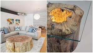 deco tronc d arbre 30 idées pour la décoration décoration des troncs d arbres
