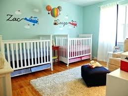 chambre bébé idée déco deco chambre jumeaux fille garcon idee deco chambre bebe garcon