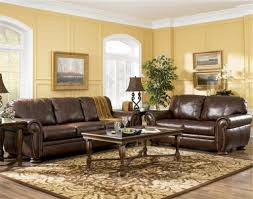 Brown Couch Living Room Ideas by Brown Leather Sofa Living Room Ideas Centerfieldbar Com