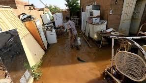 فيضانات السودان صور لن تجف