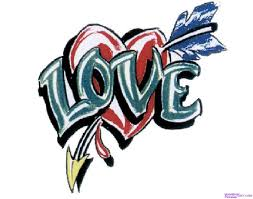 Learn How To Draw A Love Tattoo Tattoos Pop Culture FREE Step