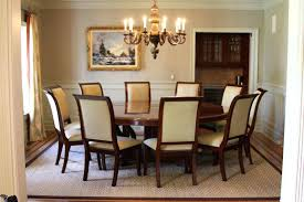 Round Formal Dining Room Table Big Large