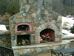 Outdoor Fireplace With Pizza Oven Above - Outdoor Fireplace With ... Garden Design With Outdoor Fireplace Pizza With Backyard Pizza Oven Gomulih Pics Outdoor Brick Kit Wood Burning Ovens Grillsn Diy Fireplace And Pinterest Diy Phillipsburg Nj Woodfired 36 Dome Ovenfire 15 Pizzabread Plans For Outdoors Backing The Riley Fired Combo From A 318 Best Images On Bread Oven Ovens Kits Valoriani Fvr80 Fvr Series Backyards Cool Photo 2 138 How To Build Latest Home Decor Ideas