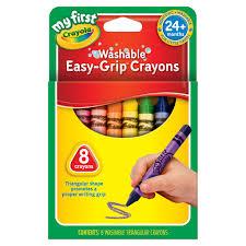 Crayola Bathtub Crayons Refill by Crayola My First Easy Grip Crayons 8 Count