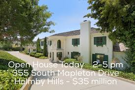 100 Holmby Open House Today In Hills