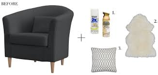 the chicago life blog simple ikea chair update