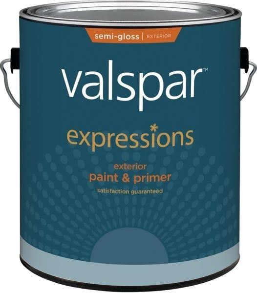 Valspar Expressions 17164 Paint - Clear, 1gal
