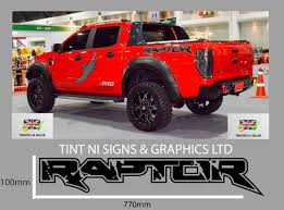 2 X FORD RANGER RAPTOR TRUCK CAR VINYL STICKERS / DECALS ANY COLOUR ... Car Decals Vinyl Truck Custom 42017 2018 Chevy Silverado Stripes Accelerator Sideline 52018 F150 Ford Graphics 3m Kit 092018 Dodge Ram Side Mountain Range Decal Rocky Nature Stickers Car Truck Auto Motors Intertional Cadian Flag Tailgate Graphic Vehicle Kits By Ampco Branding On The Move Predator 2 Fseries Raptor Mudslinger Bed Home Squgee Boy Reflective Ys Marketing Inc