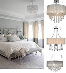 Peachy Chandelier Bedroom Incredible Decoration How To Make Your Romantic With Crystal Chandeliers