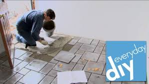 how to install a tile floor buildipedia diy