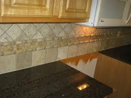 new travertine tile kitchen backsplash ideas home design model top