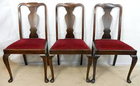 Henredon China Cabinet Ebay by Queen Anne Dining Chairs Cherry Antique Table And Room Chair