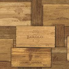 Brown Wine Crates
