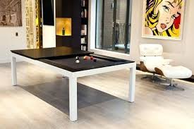 Pool Dining Table Billiard Combination