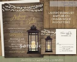 Beautiful Wedding Invitation Template Lantern