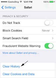 Here s How to Delete Safari Search History on iPhone iPad