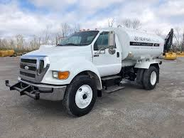 100 Ford Trucks For Sale 2007 F750 2000 Gallon Water Truck 13298 Hours