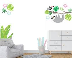 Sloth Fabric Wall Decal | Modern Jungle Decal | Branch | Toucan ... Decal Baby On Board Stroller Buy Vinyl Decals For Car Or Interior Animal Wall Decals Cute Adorable Baby Sibling Goats Playing Stars Rainbow Colors Ecofriendly Fabric Removable Reusable Stickers Welcome To Our Wedding Custom Personalized Couple Sign Mirror Glass Sticker Feather Living Room Nursery Bedroom Decor Wh Wonderful Mariagavalawebsite Costway 3 In 1 High Chair Convertible Play Table Seat Booster Toddler Feeding Tray Pink Details About The Walking Dad Funny Car On Board In Bumper Window Atlanta Cornhole Decalsah7 Hawks Vehicle Nnzdrw5323 The Best Kids Designs Sa 2019 Easy Apply Arabic Alphabet Letters