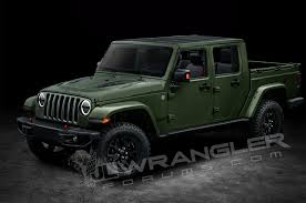2018-Jeep-Wrangler-four-door-pickup-truck-rendering-04 - South ...