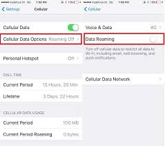 How to limit Data Usage on iPhone X 8 Plus 7 iPad iOS 11