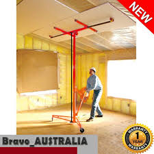 Installing Drywall On Ceiling In Basement by Drywall Panel Lifter Plaster Board Sheet Gyprock Plasterboard