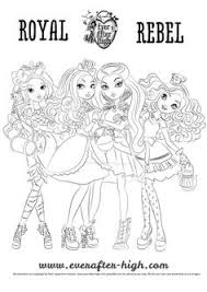 Monster High Coloring Pages To Print For Girls
