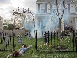 Halloween Cemetery Fence by Halloween Decoration Ideas Zombie Goshowmeenergy