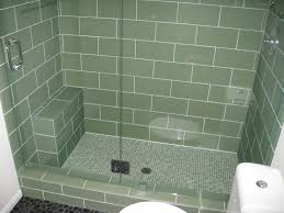 6 X 12 Glass Subway Tile by 40 Vintage Green Bathroom Tile Ideas And Pictures