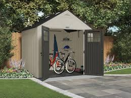 Suncast Storage Shed Sears by Craftsman 65007 8 X 7 Resin Storage Building Sears Outlet