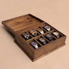 Mens Wooden Dresser Valet by Men U0027s Watch Box Watch Box Watch Case Wood Watch Box