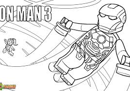 Lego Man Coloring Pages