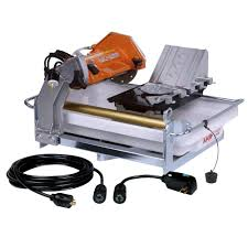 Husqvarna Tile Saw Canada by Ridgid 7 In Tile Saw With Stand R4030s The Home Depot