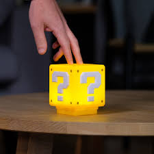 Mario Question Mark Block Lamp by 28 Mario Question Block Lamp Super Mario Bros Question