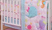 coral baby crib bedding coral nursery décor