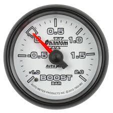 100 Meter To M2 Auto Auto 7503 Gauge VacBoost 2 116 12 Bar Mechanical Phantom Ii