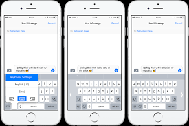 How to use one handed keyboard mode on iPhone