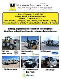 100 International Trucks Houston Auto Auction On Twitter Every Tuesday 100 PM Heavy