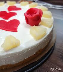 ananas marzipan torte eine kühlschrank torte ohne backen