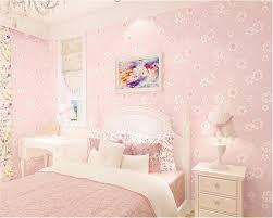 beibehang mode mädchen rosa pastoralen blumen 3d nicht woven 3d tapete kinderzimmer prinzessin zimmer schlafzimmer romantische tapete rosa