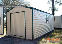 10x20 Metal Storage Shed by Storage Buildings Keen U0027s Buildings