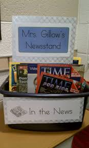 Fun Social Studies Display That Would Encourage Kids To Keep Updated With Current Events