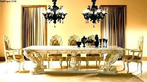 Elegant Dining Room Tables Fancy And Luxury Classic Wood Table