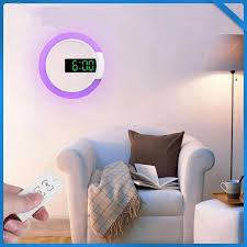 moderne led wanduhr digitale tisch uhr alarm moderne design nachtlicht für zu hause wohnzimmer dekorationen